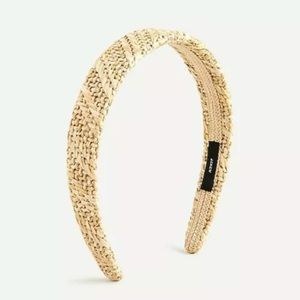J crew women's Raffia straw headband